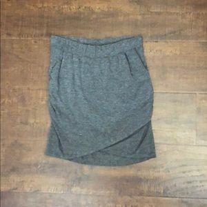 Tobi Heather Ruched Skirt